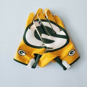 Nike Vapor Knit Green Bay Packers Gloves PGF397